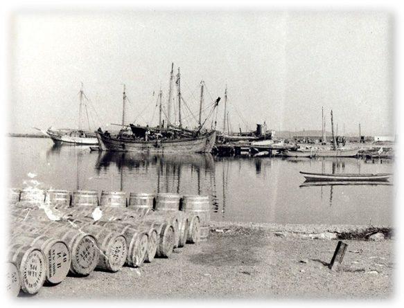 Διέξοδος, Λιμάνι Μεσολογγίου
